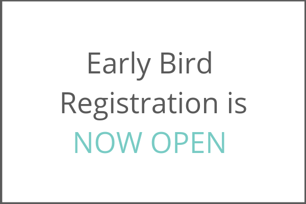 text box that reads early bird registration is now open